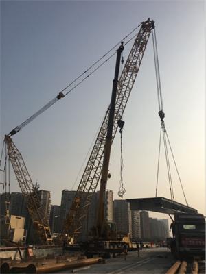 成都巨象吊装助力石羊立交改造工程