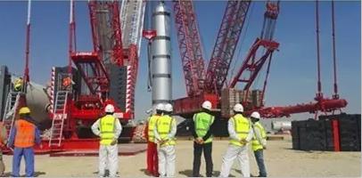 打造海外精品吊装工程,中石化于科威特成功力举千吨设备